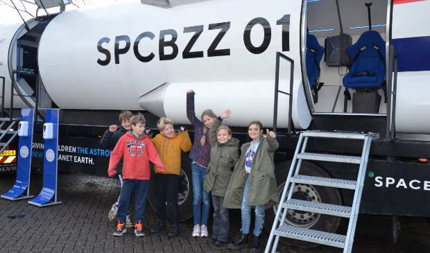 De Spacebuzz bezocht De Windroos