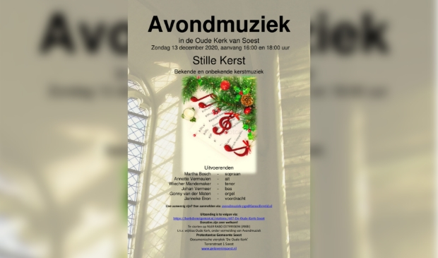 poster Avondmuziek