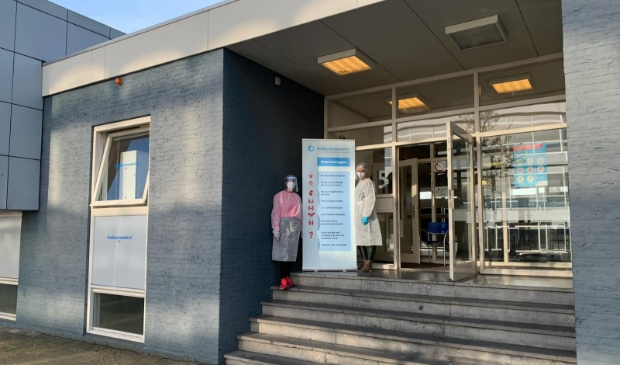 <p>De testlocatie aan Rooswijck 5 in Buitenveldert.</p>