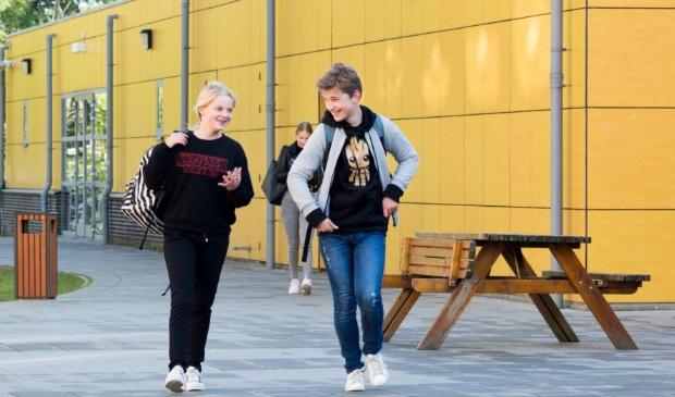 Groep 8 leerlingen mogen de scholen gelukkig wel bezoeken