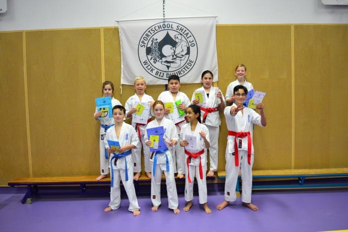 geslaagden Junioren Shiai-Jo