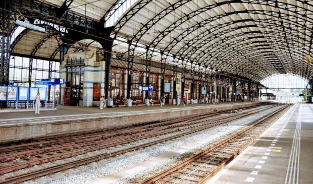 <p>Het station van Haarlem.</p>