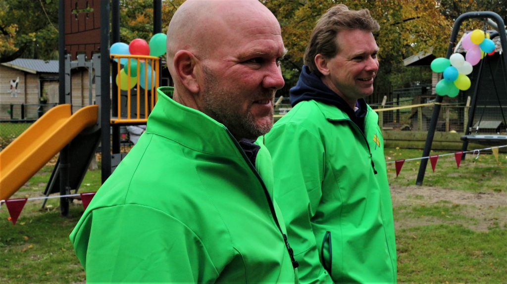 <p>&nbsp;Leden dorpsraad Marcel Klein en Martijn Schouten.</p> Piet van Straalen © BDU media