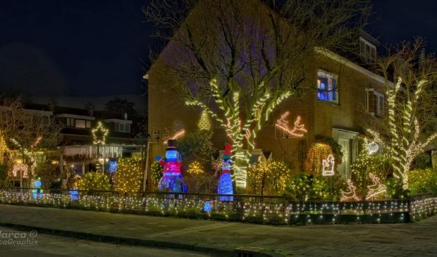 Kerst-tuin Kinheim Zwanenburg