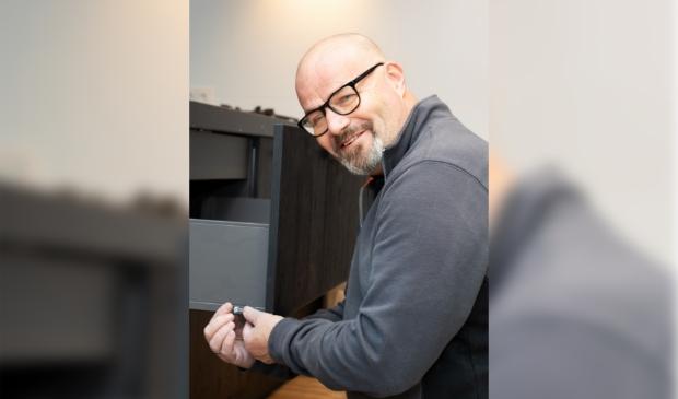<p>Gijs Henken van Van Ginkel Keukens in Barneveld.</p>