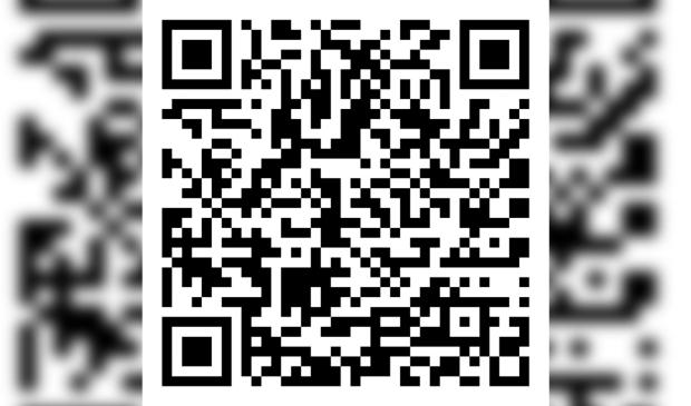 QR betaalcode voor donatie MS fonds