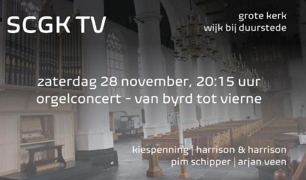 SCGK organiseert een concert in de Grote Kerk