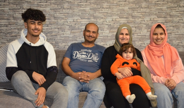 Familie Fateh Allah voelt zich hier thuis