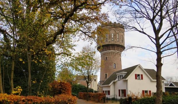 Watertoren (1903) aan de Sophialaan en sinds 2014 in gebruik als woning