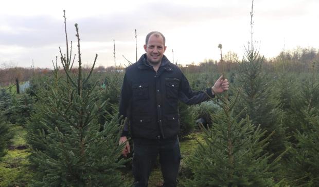 <p>Kerstbomen bij Boomkwekerij de Bruin.</p>