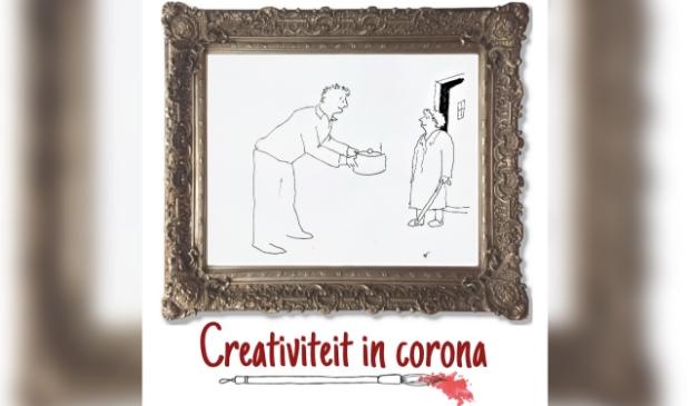 <p>Amstelvener Piet Noorlander maakte afgelopen periode prachtige cartoons, waaronder een over hulp aan elkaar tijdens de coronacrisis.</p>