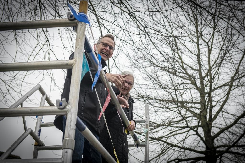 Piet samen met zijn vrouw op de steiger Suzanne Heikoop © BDU media