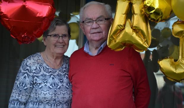 Jannie en Willem Kool zijn 60 jaar getrouwd