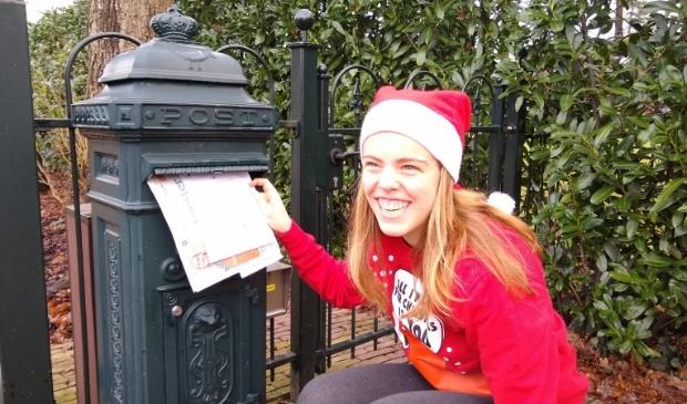 <p>D&ouml;ske plakte haar oproep op de Soester Courant voordat ze die door de brievenbus duwde.</p>