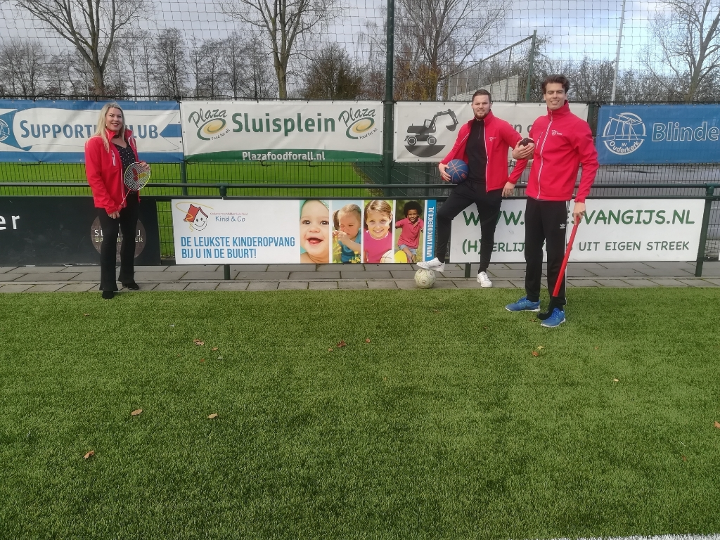 <p>Links Iris Selderijk, rechts achteraan Jurgen Wouterse en daarvoor Etienne v/d Veen.</p>