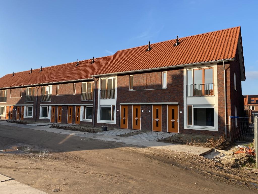De opgeleverde woningen Jan van de Kamp © BDU Media
