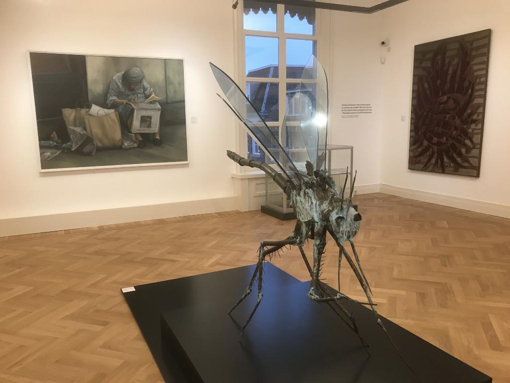 De BKR expositie bestaat uit schilderijen, grafisch werk, keramiek, installaties en beelden Hannie Visser-Kieboom © BDU Media