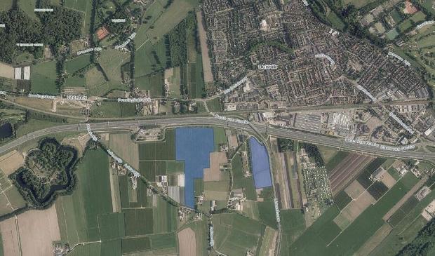 <p>Plan voor nieuw zonneveld langs de A12</p>