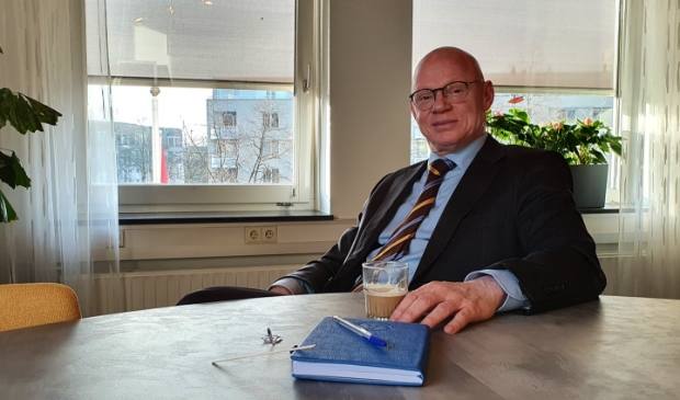 Burgemeester Gilbert Isabella hoopt volgend jaar weer een terrasje te kunnen pakken