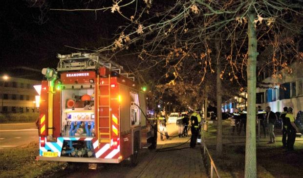 <p>De brandweer kon zich dan ook beperken tot een korte nablussing en een rondom verkenning op eventuele bijzonderheden. </p>