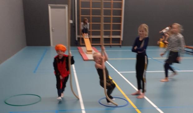 Pietengymnastiek bij SVL