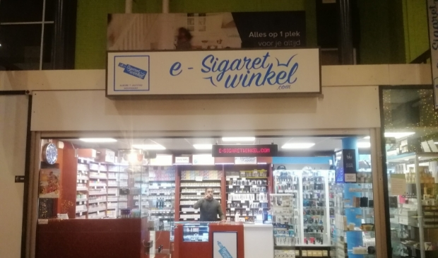 de e-sigaretwinkel in Hoofddorp