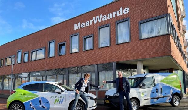 <p>In november werden de nieuwe autosleutels officieel overhandigd aan een trotse Renata Fideli, Directeur-Bestuurder bij MeerWaarde.</p>