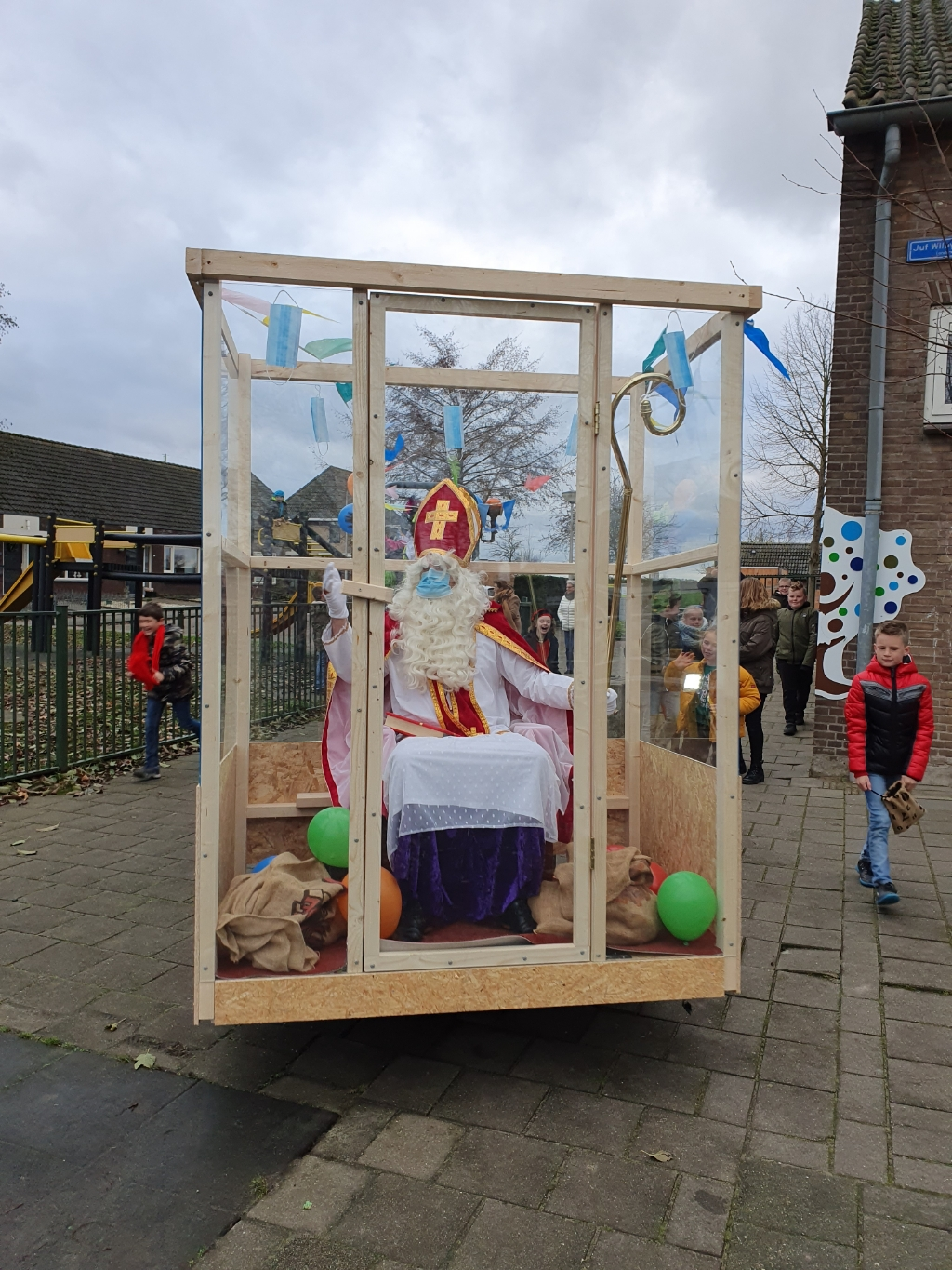 Sint in quarantaine Ilse © BDU media