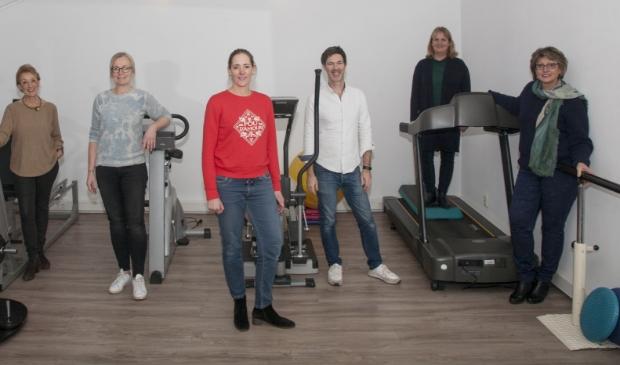 <p>DriebergenFIT (v.l.n.r.) Editha Voskuil, Marijke van der Scheer, Emilie Gijsman, Onno van Heelsbergen, Joanneke Heere, Ina van Rheenen.</p>