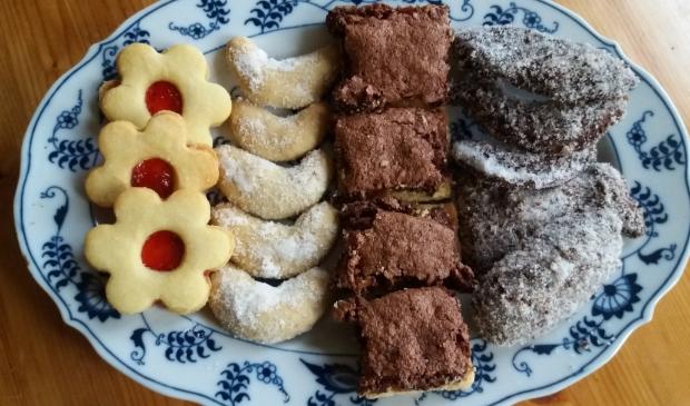 Traditionele Tsjechische kerstkoekjes