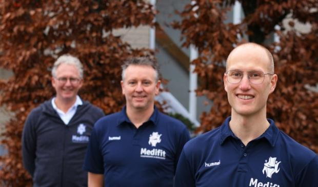 <p>Van links naar rechts: Ronald Uyterwaal, Arjan de Bruijn en Frank Schutten.</p>