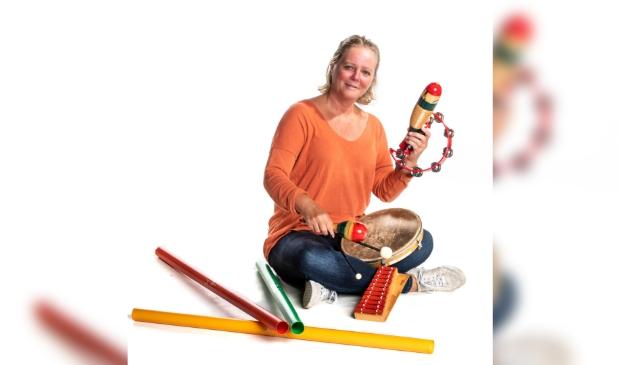 Lydia Nagel, muziekdocent bij de Heuvelrug Muziekschool Doorn