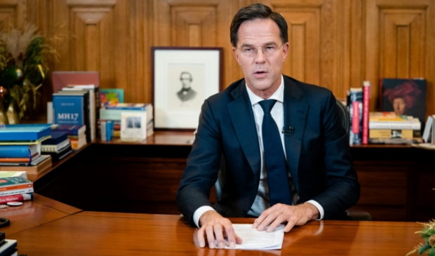 <p>2020-12-14 18:54:23 THE HAGUE - Prime Minister Mark Rutte in het Torentje prior to his speech to the Dutch people about the tightening of the corona rules. The cabinet has decided to introduce a strict lockdown to put an end to the sharp increase in the number of new corona infections. Most shops, all schools and other institutions such as theaters and museums have to close their doors for at least a month. ANP BART MAAT</p>