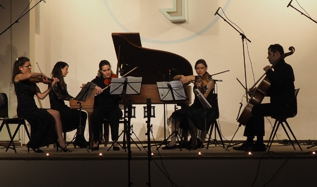 Inguz kwartet en Natalia Ivashina op piano