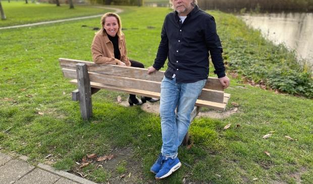 directeur Karin Raadschelders van Genius Recruitment en oprichter Sikko Lucas van Macnify.