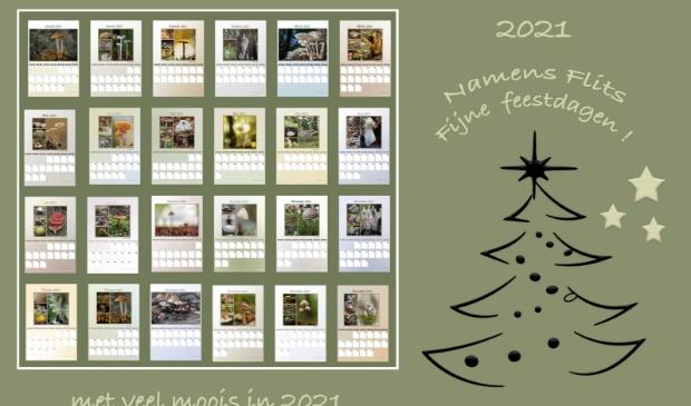 eigen foto`s in een kalender