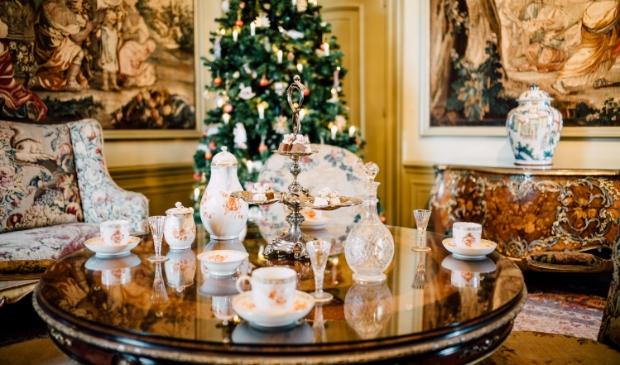Huis Doorn in kerstsfeer