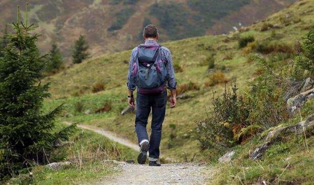 <p>Pelgrims gaan vanouds te voet, de meest groene manier van reizen.</p>