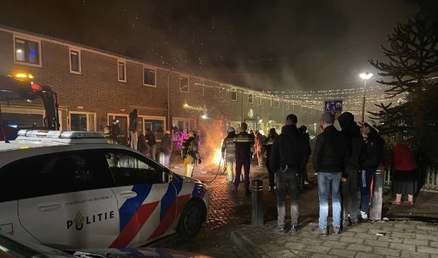 <p>Palletbrand geblust in de Anemoonstraat.</p>