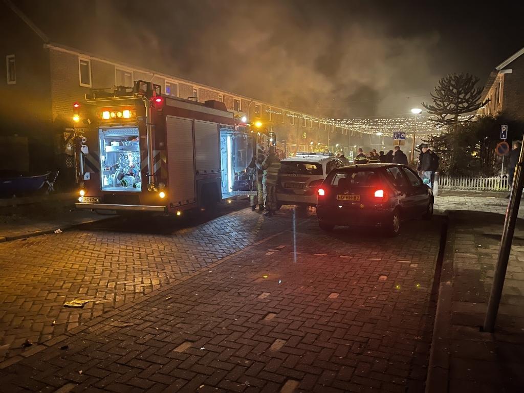 <p>Palletbrand geblust in de Anemoonstraat.</p> AS Media © BDU media