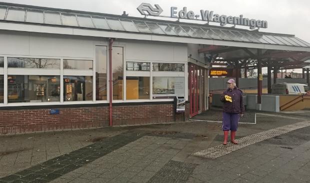 Ook station Ede-Wageningen gaat het loket sluiten.