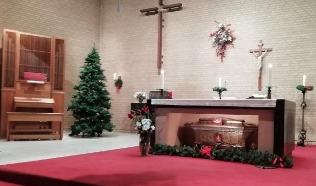 Kerst in HH. Martelaren van Gorcum in 2019, toen de vieringen nog wél mochten