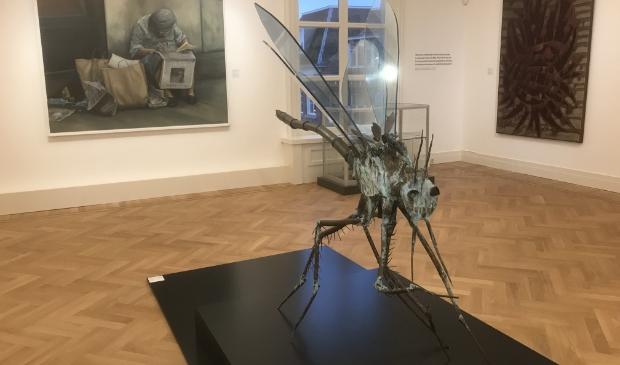 <p>De BKR expositie bestaat uit schilderijen, grafisch werk, keramiek, installaties en beelden</p>