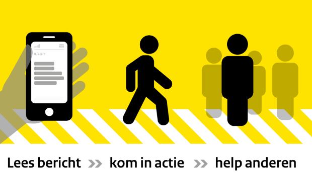 Zie je een NL-Alert? Lees meteen het bericht, kom in actie en help anderen.
