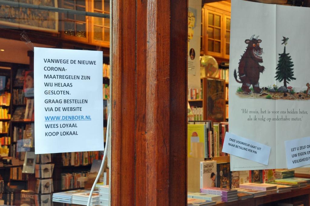 <p>Boekhandel Den Boer gaat over op de website.</p>