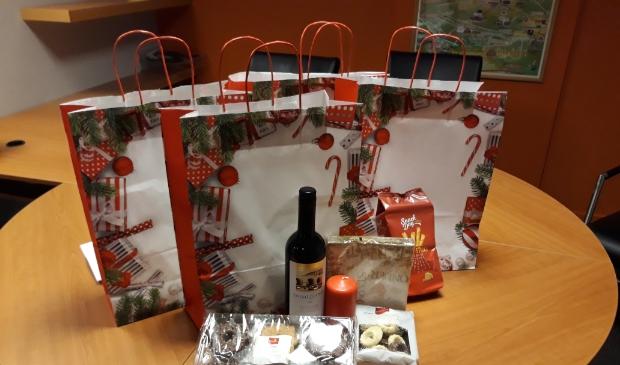 <p>De leden van de PCOB kunnen deze week een kerstpakket tegemoet zien.</p>