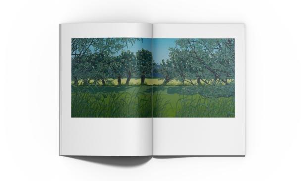 spread uit het kunstboek
