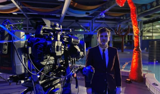 <p>Presentator Lucas van Meerendonk van het NOS Jeugdjournaal.</p>