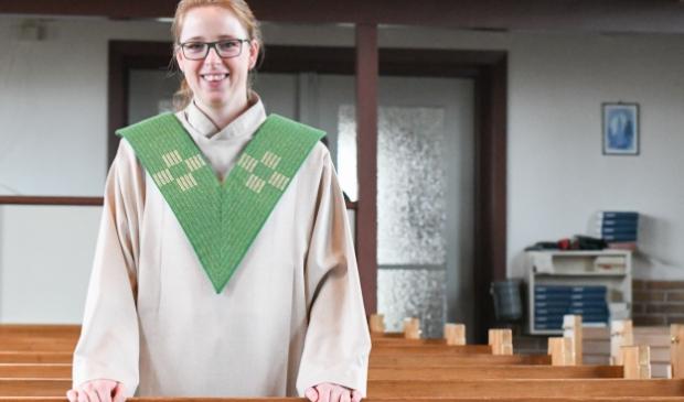 <p>Judith Visser is dominee van de gereformeerde kerk in Nijkerkerveen.&nbsp;</p>