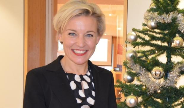 <p>Burgemeester Iris Meerts</p>